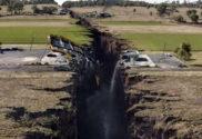 Fractura generada por terremoto